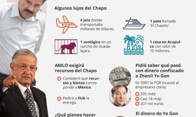 No hay rastro de la fortuna de 'El Chapo' Guzmán: UIF