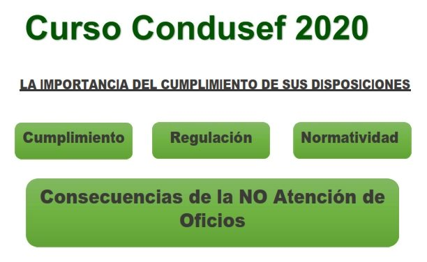 Curso Condusef 2020