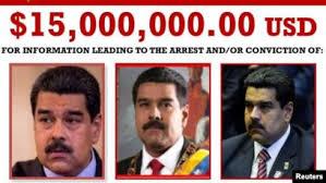 Acusa EU a Maduro de narcotráfico