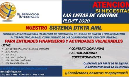 Listas de Control PLD/FT
